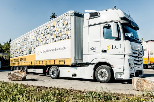 LGI Transport Logistics Anniversary Trailer - Press Photo
