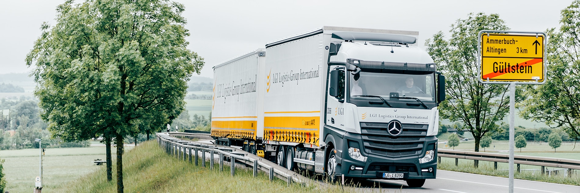 First Long Trucks In Use
